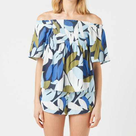 Now & Then Billie Top - Print