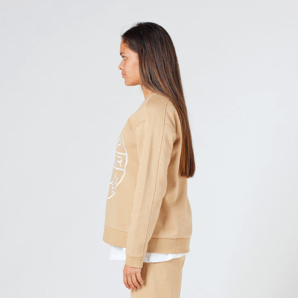 Lower Classic Crew / Sign (Embroidered) Tan