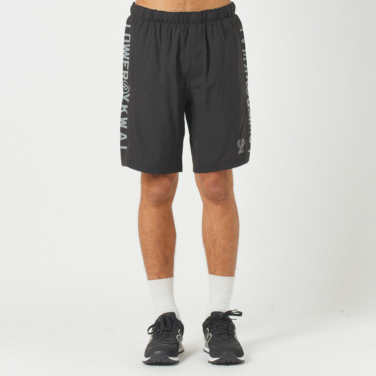 Lower Sport Court Short Two - Black