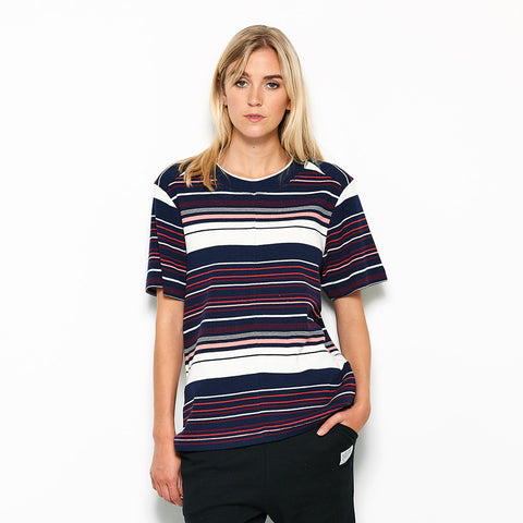 Five Each Slouchy Tee - Stripe