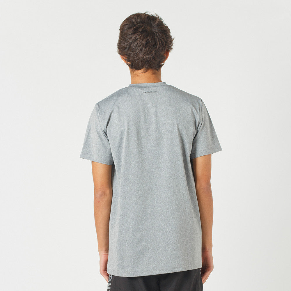Lower Sport Field Tee / Edge Grey