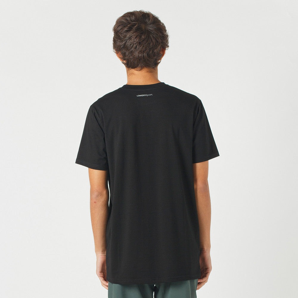 Lower Sport Field Tee / Small Low (reflective) Black