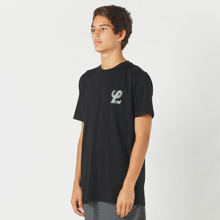 Lower Sport Field Tee / Blinds (reflective) in Black