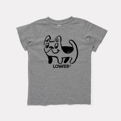 Lower Kids Tee / Frenchie - Grey
