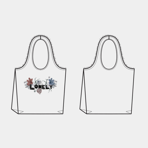 Lonely Tote (Floral)