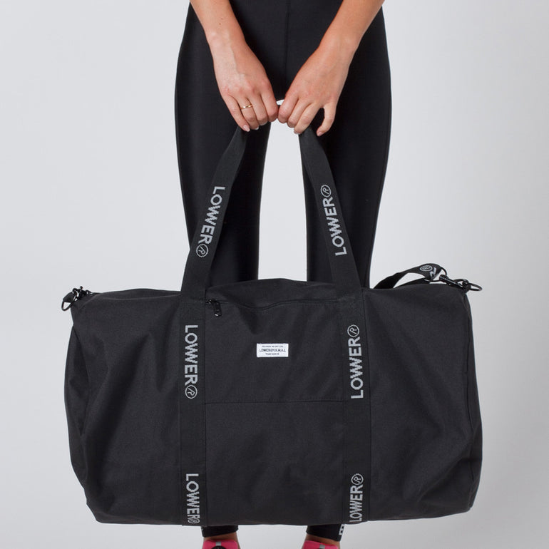 Lower Sport Gym Bag - Black