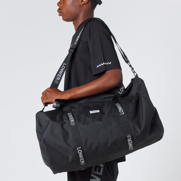 Lower Sport Gym Bag in Black