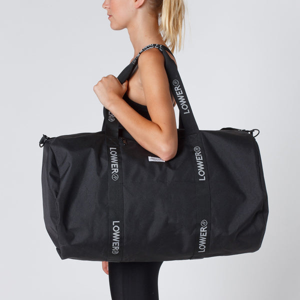 Lower Sport Gym Bag Black