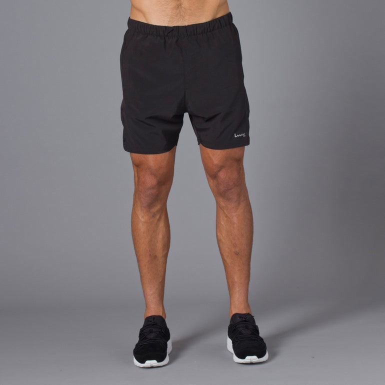 Lower Sport Mesh Panel Shorts - Black