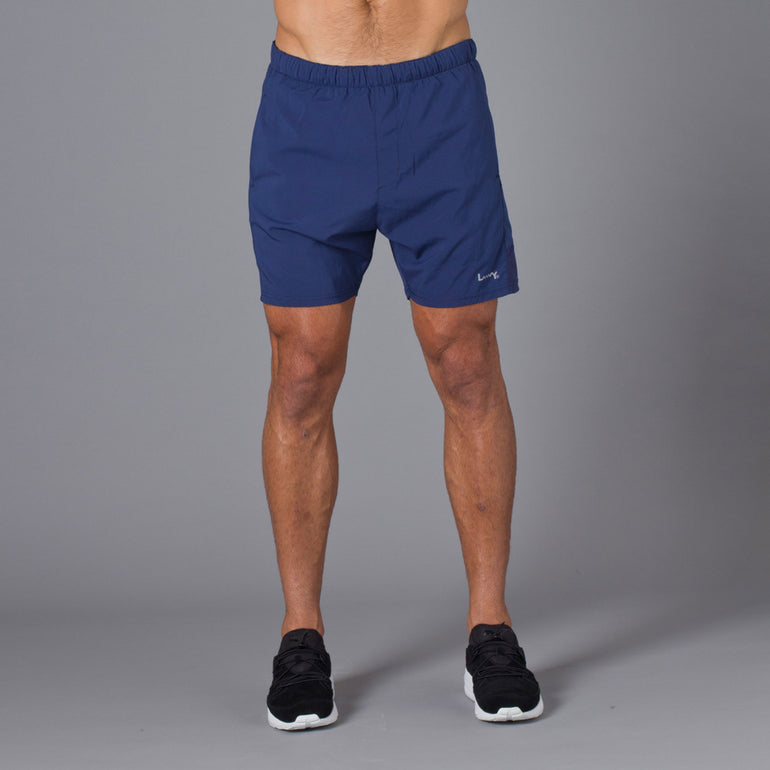 Lower Sport Panel Shorts - Navy