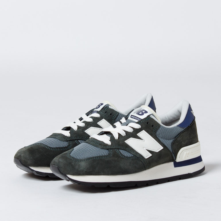 New Balance 990 Heritage Green/Grey