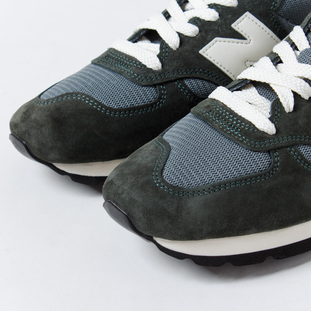 NB Made in USA 990 Heritage - Green/Grey