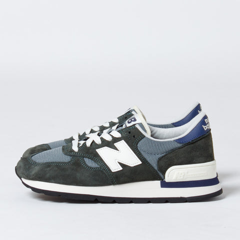 New Balance Made in USA 990 Heritage - Green/Grey