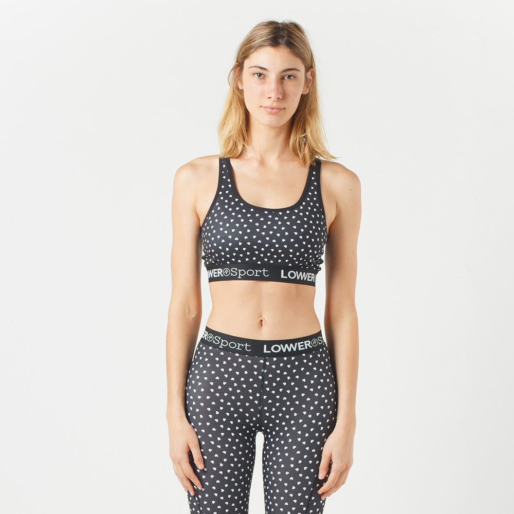 Lower Sport Sports Bra - Hearts