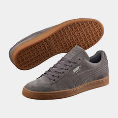 PUMA Suede Classic Debossed in Steel Grey Peacoat