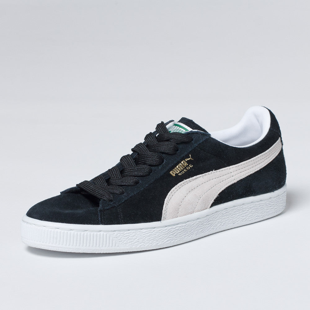 PUMA Suede Classic Shoes - Black/White