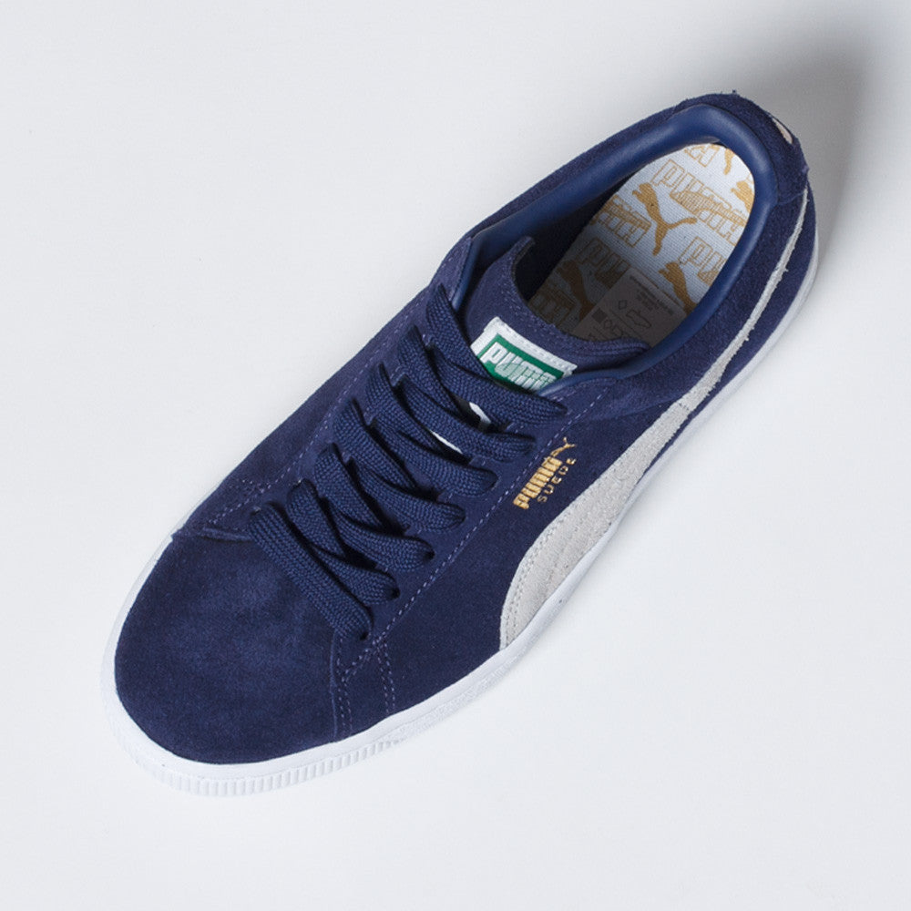 PUMA Suede Classic Shoes Blue/White