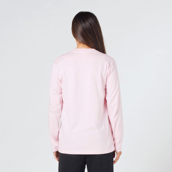Lower Relax L/S Tee / Vacation (Pink)