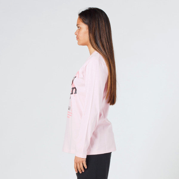 Lower Relax L/S Tee - Vacation Pink