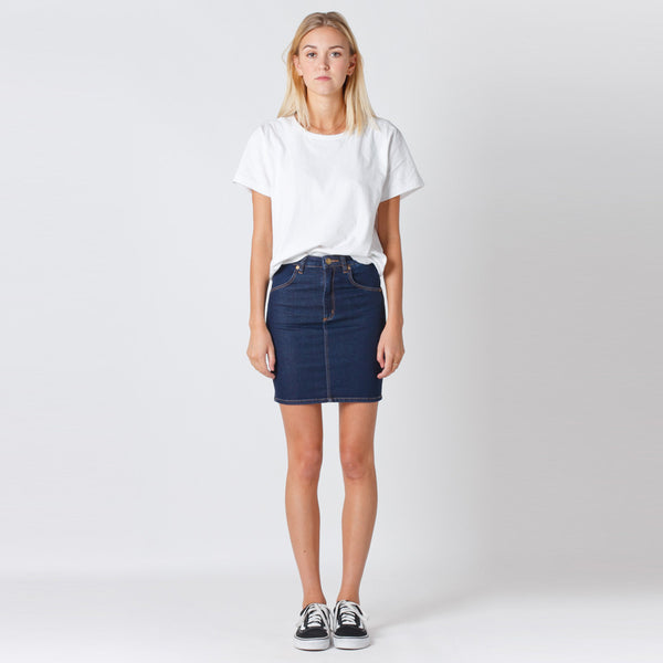 Rollas Denim Skirt - Liberty Blue