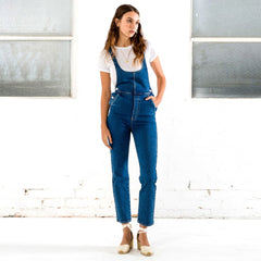 Rollas Original Straight Overall Jeans - Denim