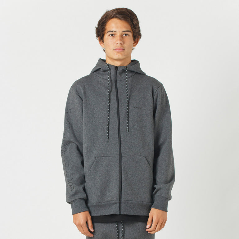 Lower Sport Sideline Zip Hood (reflective) - Dark Grey