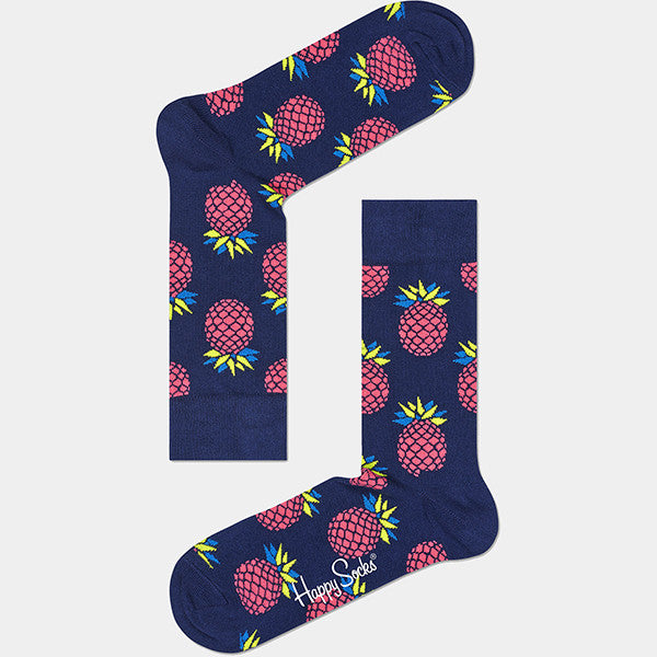 Happy Socks Pineapple Socks - Blue