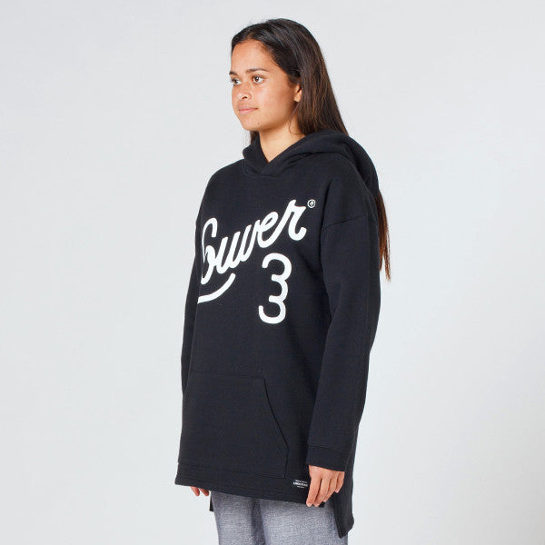 Lower Slouchy Hood - Ellis in Black