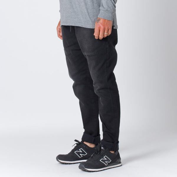 Thing Thing Mens Dojo Jeans in Black Wash