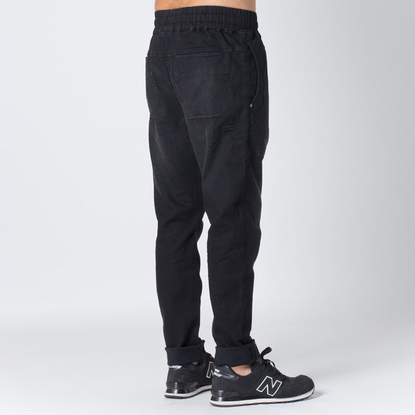 Thing Thing Mens Dojo Jean - Black Wash