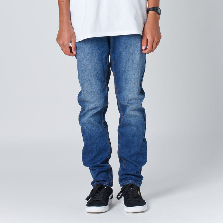 Thing Thing Stooge Jean - Mid Blue