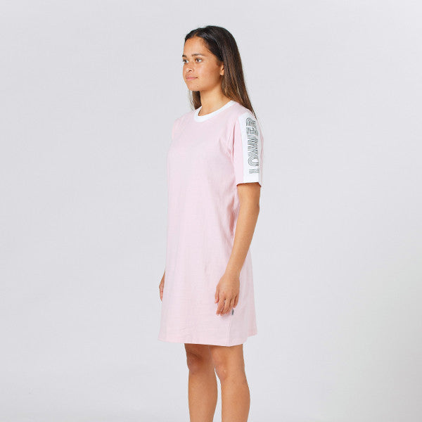 Lower Tina Tee Dress / Print in Pink