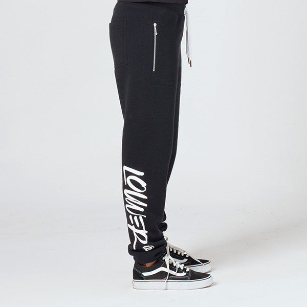 Lower Troop Trackie / Skitse Black