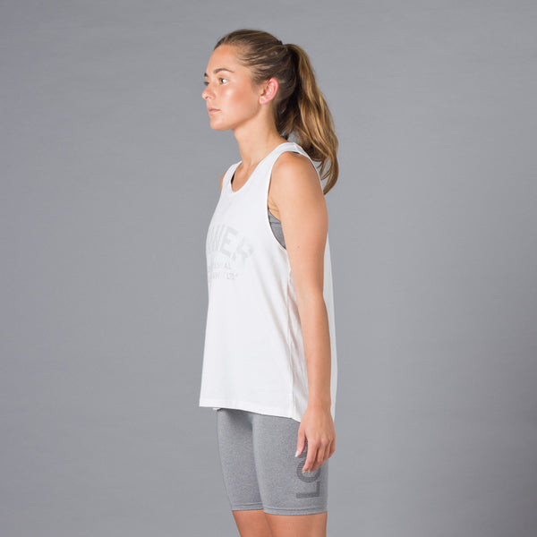 Lower Sport Action Tank / Athens - White