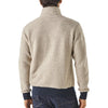 Men's Woolyester Fleece Pull Over - Oatmeal Heather