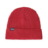 Fishermans Rolled Beanie - Rincon Red