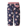 Baby Reversible Tribbles Pants - Many Moons: Rosebud Pink