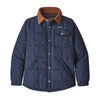Boys' Quilted Shacket - New Navy