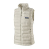 Women's Down Sweater Vest - BIRCH WHITE