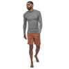 Men's Long Sleeve R0 Top - Feather Grey