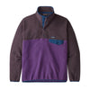 Men's Light Weight Synch Snap-T Pull Over - Purple