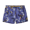 Girls' Baggies Shorts - Parrots: Violet Blue