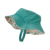Baby Sun Bucket Hat - Birds in the Lotus: Prima Pink