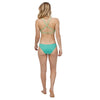 Women's Reversible Seaglass Bay Top - Ripple: Bud Green