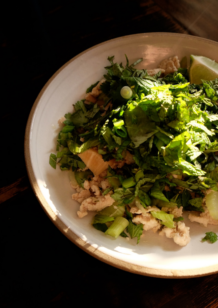 herby eats: thai larb salad