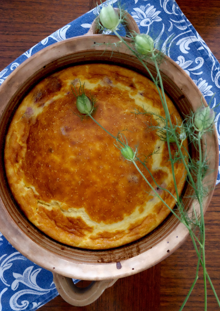 sweet and savory end of summer custard frittatas