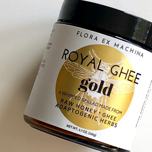 Royal Ghee Gold - immunity focused superfood honey ghee spread