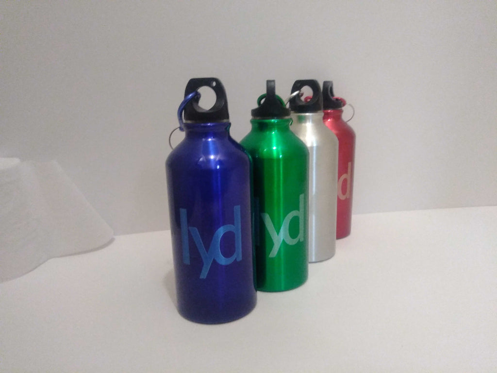 Engraved Aluminium Lyd Bottle