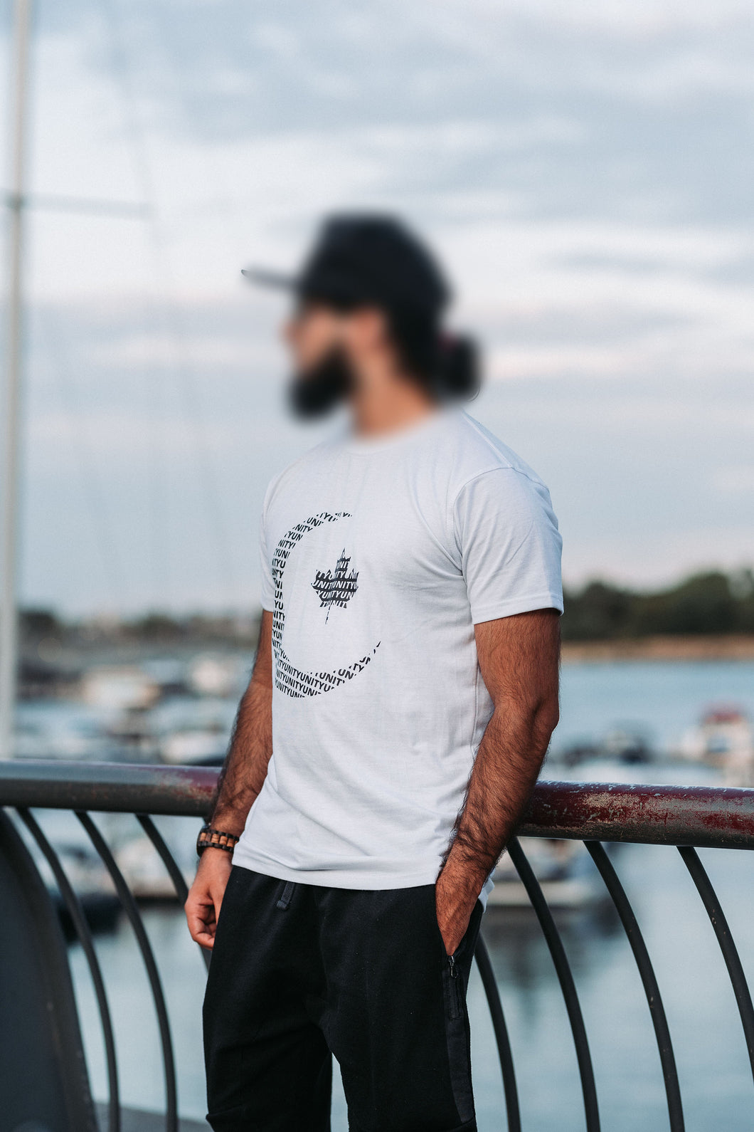 (MENS) Crescent+Unity T-Shirt