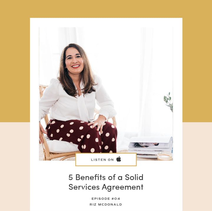 04  |  5 Benefits of a Solid Services Agreement